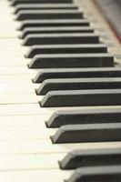 Comment couper Piano Ivoire clé