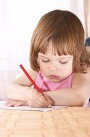 Etapes du développement d'un enfant d'âge préscolaire