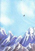 Comment peindre une scène de montagne dans Aquarelle
