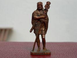 Comment utiliser Bronze peinture sur les chiffres de résine