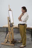 Comment tracer un dessin sur une toile
