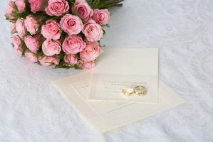 Différents types d'invitations de mariage gratuit
