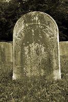 Comment faire tombales d'un cimetière