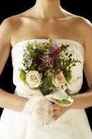Techniques bouquet de mariée ruban Nouer