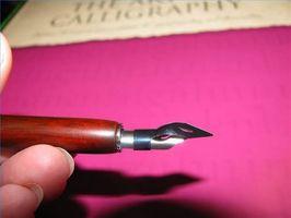 Comment faire pour mettre Conseils sur un stylo de calligraphie