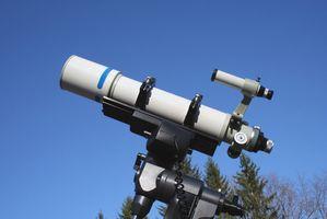 Pièces Optical & Mechanical d'un télescope