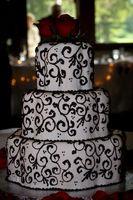Comment niveler les gâteaux de mariage