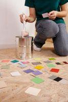Comment peindre sur Gloss à base d'huile peinture avec satiné Latex