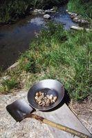 Comment chercher de l'or dans les rivières Virginie