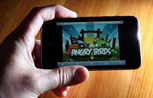 """Comment Touchez l'écran dans """"Angry Birds"""""""