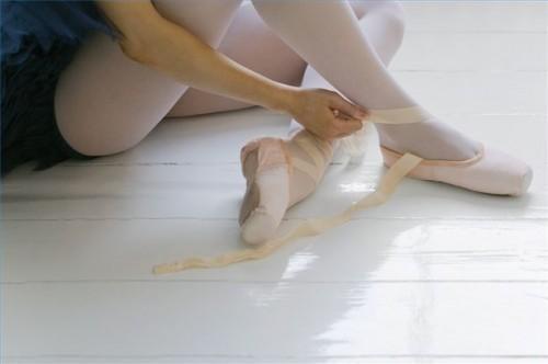 Comment Lace Ballet Shoes