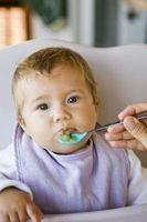 difficultés d'alimentation chez les bébés