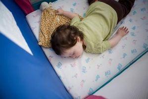 Comment grands lits devrait avoir Rails pour les enfants?