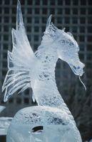 Comment mener une sculpture de glace