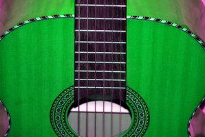 Guitare action Outils de réglage