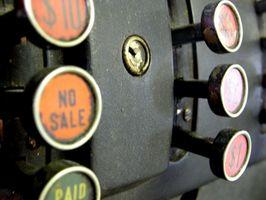 Comment Refinish un Cash Register Antique