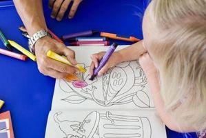 Comment apprendre à un enfant à faire Affiches