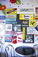 Menu Diner muraux conseils des années 50