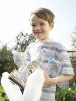 Indications sur le tri des matières recyclables pour les enfants