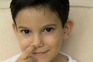 Comment empêcher votre enfant de se curant le nez