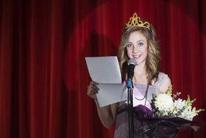 Comment écrire un discours Pageant