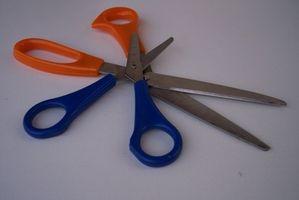 Comment couper le verre avec des ciseaux