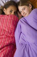 Quel est le bon âge pour une soirée pyjama?