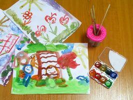 Que Charge pour Art classe à l'enfance