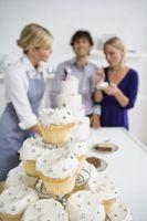 Les techniques pour la décoration de gâteaux pour les douches de mariage