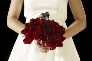Un mariage avec les couleurs blanc rouge, noir et