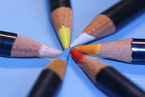 Comment peindre en utilisant des crayons aquarelle