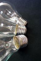 Quels sont les éléments dans les ampoules électriques?
