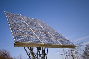 Comment recharger une batterie d'une cellule solaire
