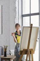Comment peindre sur une toile sans primaire