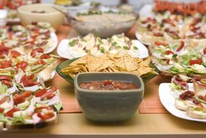 Comment préparer la nourriture pour une grande fête
