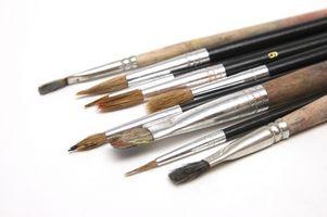 Comment peindre une ligne droite avec Peintures à l'huile