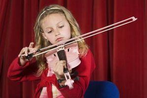 Comment préparer les enfants pour une Violin Recital