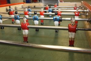 Règles de Foosball pour les scores de gardien de but