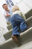 Comment traiter avec des escaliers et un enfant en bas âge