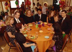 Programme de réception de mariage typique
