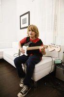 Les guitares électriques Meilleur pour les enfants