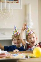 Endroits pour des fêtes d'anniversaire pour les jumeaux