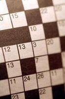 Comment faire un Crossword Grille
