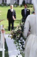 Comment finir dans une allée Runner pour un mariage en plein air