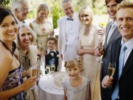 Comment être un huissier à un mariage