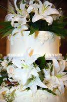 Idées de gâteau de mariage rose