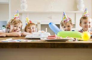 Les meilleures collations pour une fête d'anniversaire de Kid