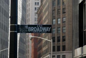 Broadway Auditions & Compétences requises