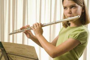 Comment démontrer la flûte pour les enfants