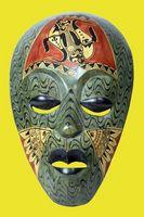 Comment faire vos propres masques décoratifs en céramique